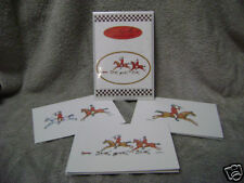 Country Hunt Notecards -  Set of 3