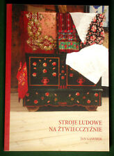 BOOK Polish Folk Costume Zywiec goral ethnic dress lace embroidery skirt POLAND