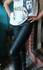Sass & Bide EVERYTHING BUT Lamb Leather Pants/Leggings Sz 40/10