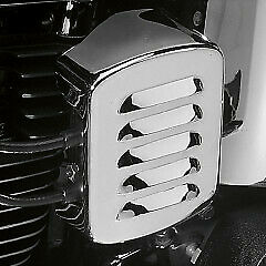 Coil cover louvered chrome - HARLEY DAVIDSON GLIDE ELECTRA CLASSIC SOFTAIL SU...