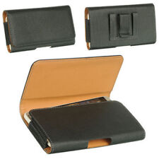 For iPhone 8plus Tradesman Lichi Skin Magnetic holster Leather Belt Clip NEW