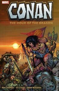 Conan The Hour of the Dragon TPB #1-1ST VF 2020 Stock Image