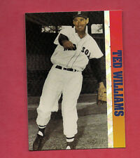 1993 RED SOX TED WILLIAMS  BALLSTREET  CARD