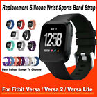 Replacement Silicone Wrist Sports Band Strap Wristband For Fitbit Versa 2 / Lite
