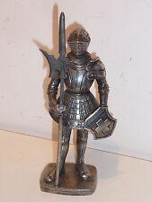 1291-1991 STATUE CHEVALIER SUISSE ZINN statuette Etain Zinn Pewter SWISS aarau