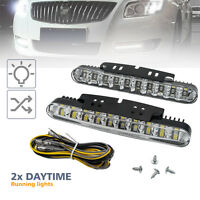 2pcs Car Daytime Running Light 30 LED DRL Daylight Kit White 12V DC Head Lamp AU