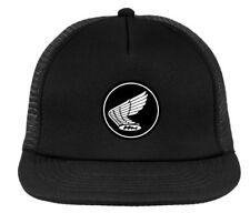 Honda retro motocross cap, vintage MX trucker hat , snapback HRC