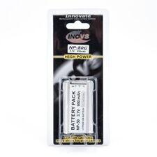 Inov8 Casio NP-50 Replacement Lithium Digital Camera Battery 950mAh 3.7v Li-ion