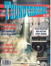 Thunderbirds #33 (9th January 1993) TV21 full colour reprint strips