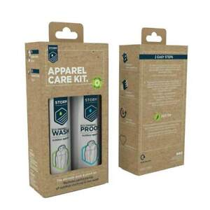 Storm Eco Apparel Care Kit - Wash and Reproofer
