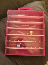 Slightly Used Pink 12 Inch Shopkins Display Case