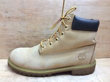 Timberland Mens Classic Yellow Premium Waterproof Boots Sz UK 5 EU 37.5 womens