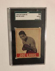 1948 Leaf Boxing #48 Joe Louis Sgc 2.5