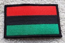 PAN-AFRICAN FLAG PATCH Embroidered Badge 5x7.6cm African American Black Power