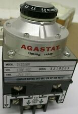 New other AGASTAT Timing Relay 2422ABM 120 60C .2-5 Sec. A654AES