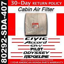 Genuine OEM Honda Civic Accord Odyssey Pilot CR-V Ridgeline Cabin Air Filter