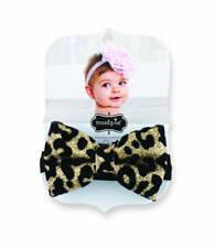 Mud Pie Leopard Glitter Soft Headband