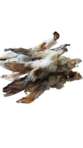 Kaninchenohren mit Fell getrocknete Snacks für Hunde (15€ / 1 KG )