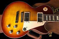 2020 Gibson Les Paul 60's Standard Unplayed Mint! Original Case Iced Tea Flame