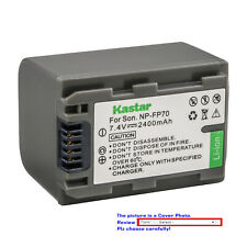 Kastar Replacement Battery Pack for Sony NP-FP70 NP-FP71 & Sony DCR-HC96 DCRHC96
