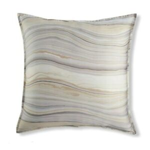 Hotel Collection Agate Marble Swirl Euro Pillow Sham