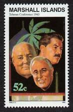 MARSHALL ISLANDS, SCOTT # 475, TEHERAN CONFERENCE 1943, WORLD WAR II, MNH