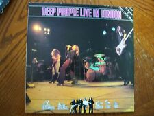 DEEP PURPLE LIVE IN LONDON UK IMPORT A-1 B-1 1982 PRESSING EXCELLENT