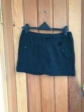 ben sherman black mini skirt uk 10 bnwt