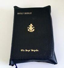 Boys Brigade Prize Bible St James Version Personal Letter Box 1948 Vintage