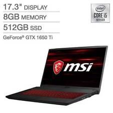 "Brand New MSI 10SCSR-448US GF75 Thin 17.3"" Gaming Laptop --i5-10300H/ 8GB/ 512GB"