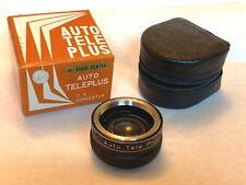 Vintage Auto TelePlus Teleconvertidor 2x Para Pentax montaje M42