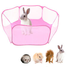 Foldable Pet Exercise Pen Kennel Soft Fabric Dog Run Puppy Cat Playpen Cage