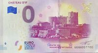 BILLET 0  EURO  CHATEAU D'IF  FRANCE   2019  NUMERO 7700