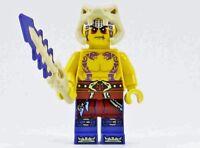 New LEGO Ninjago Krait minifigure w/ snake none sword -  tribe people