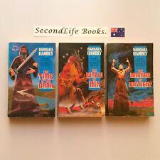 THE DARWATH Trilogy ~ Barbara Hambly. FANTASY. Time Dark Air Armies Daylight.