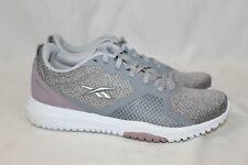 NEW Women's Reebok Flexagon Force Memory Tech Shoes Gray Pink Size 8.5