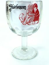 New listing Vintage The Harlequin Dinner Theatre Goblet Glass Orphan Annie