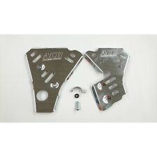 Piastra di protezione telaio per 125 ccm YAMAHA YZ 125 anno fab. 02-03 Alluminio