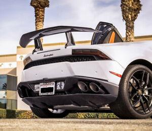 Carbon Fiber Rear Wing Spoiler for Lamborghini Huracan LP580 LP610 Coupe 2-Door