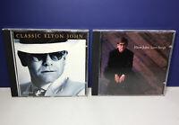 Lot of 2 Elton John CDs Love Songs (1996) & Classic Elton John (1994)
