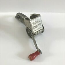 Vintage MOULI Cheese Grater Made In France With Original Red Wood Handle 1950s