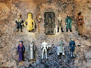 Vintage Kenner Star Wars 9 of the Last 17 plus Blue Snaggletooth