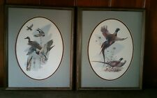2 Douglas Van Howd Mallard and Pheasant Prints Framed and Signed