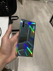 Samsung Galaxy Note10+ 5G 256GB - Aura Glow (Unlocked) MEGA BUNDLE!!!