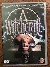 Anat Topol-Barzilai Gary Sloan WITCHCRAFT ~ 1988 Cult Horror Film | UK DVD