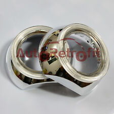 Chrome Finish IRIS Style Shroud+Angel Eye Cover ,for 2.5'' and 3.0'' Projectors