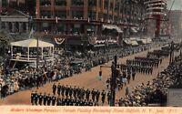 Postcard Modern Woodmen Foresters Parade in Buffalo, New York~122440
