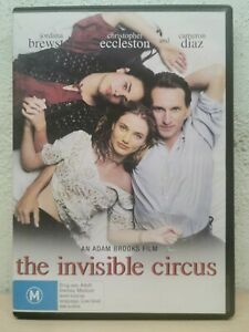 The Invisible Circus (DVD, 2007) Cameron Diaz - DRAMA