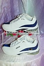 Mens Starter Star-Max White Leather/Blue Athletic RIO 2556560 Shoes~ Sz 7~Worn 1