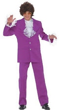 Austin Powers MoJo Groovy Man Mens 60s 70s Stag Fancy Dress Costume Suit